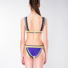 La Mare Purple Cancun Swimwear